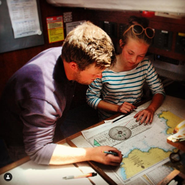 Learn how to sail aboard Helen Mary R